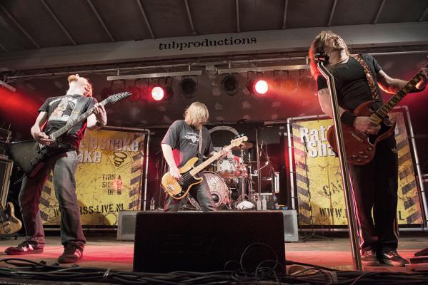 RattleSnake Shake on Tour concert en documentaire fotografie