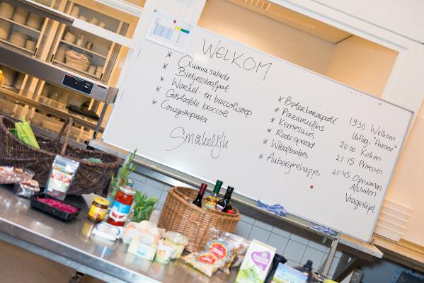 Volksuniverseit Oss Kookworkshop vegetarisch koken koolhydraat vrij koken