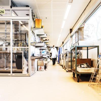 Universiteit Wageningen laboratorium bedrijfsfotografie