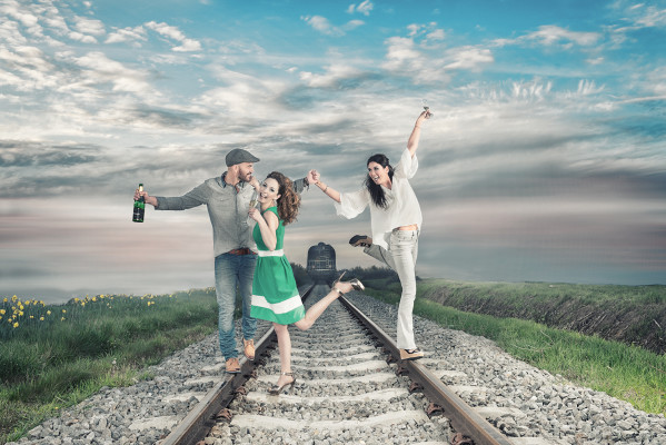 Making off fotografie Partner man vrouw mode Fashion fotografie